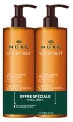 Nuxe Rêve de Miel Ultra-Rich Cleansing Gel 2 x 400ml