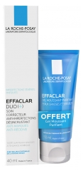 La Roche-Posay Effaclar Duo (+) 40 ml + Gel Moussant Purifiant 50 ml Offert