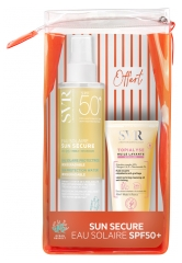 SVR Sun Secure Sun Water Protective Biodegradable SPF50+ 200ml + Topialyse Micellar Cleansing Oil 55ml Free