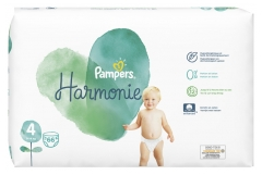 Pampers Harmonie 66 Couches Taille 4 (9-14 kg)
