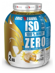 Eric Favre Iso 100% Whey Zero 2kg - Fragrance : Lemon Meringue Pie