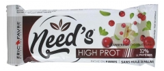 Eric Favre Need's High-Protein Bar 60g - Flavour : Cranberry/White Chocolate