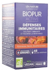 Biopur Active Immune Defenses Organic 48 Capsules