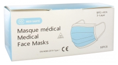 Médi-Santé 50 Medical Masks EFB 95%