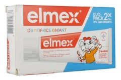 Elmex Dentifrice Enfant Lot de 2 x 50 ml