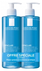 La Roche-Posay Effaclar Gel Moussant Purifiant Lot de 2 x 400 ml