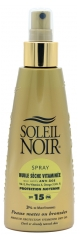 Soleil Noir Vitamined Dry Oil SPF15 Spray 150ml