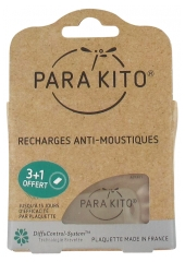 Parakito 4 Anti-Mosquitoes Refills with 1 Free