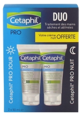 Galderma Cetaphil Pro Dryness Control Protective Hand Barrier Cream Day 50 ml + Repairing Hand Cream Night 50 ml Gratis