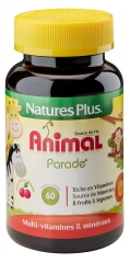 Natures Plus Animal Parade Child Source of Life Cherry Flavour 60 Tablets