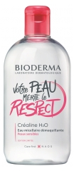 Bioderma Créaline H2O Micellar Cleansing Water 500ml Limited Edition