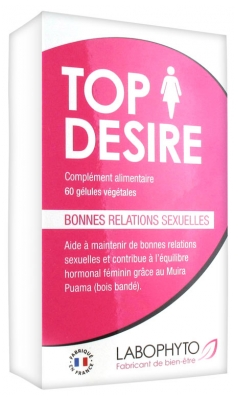 Labophyto TopDesire 60 Vegetable Capsules