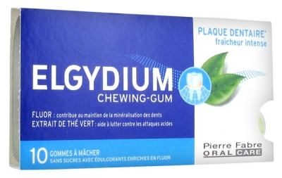 Elgydium Chewing-Gum 10 Chewing-Gums