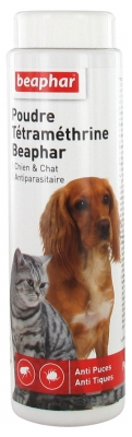 Beaphar Anti-Fleas & Anti-Ticks Dog and Cat Powder 150g