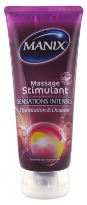 Manix Stimulating Massage Intensive Sensations 200ml