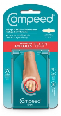 Compeed Toes Blisters Bandages x8