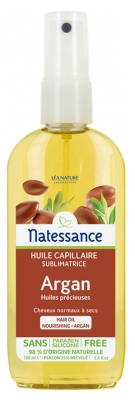 Natessance Beautifying Hair Oil Argan No Rinse 160ml