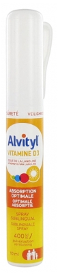 Alvityl Vitamine D3 Spray Sublingual 10 ml