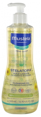 Mustela Stelatopia Cleansing Oil Atopic Prone Skins 500ml