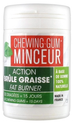 Arlor Natural Scientific Chewing Gum Minceur 30 Dragées