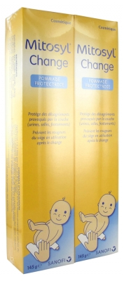 Mitosyl Change Pommade Protectrice Lot de 2 x 145 g
