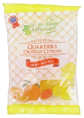 Estipharm Le Pastillage Officinal Quartiers Orange Citron 80 g