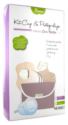 Les Tendances d'Emma Collection Eco Belle Kit Cup & Protège-Slips