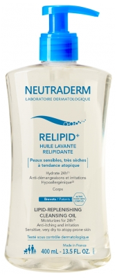 Neutraderm Relipid+-Reinigungsöl 400 ml