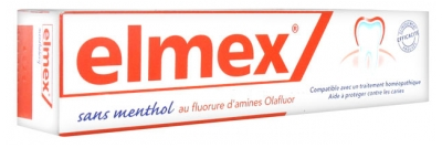 Elmex Homeopathy Compatible Mint-Free 75ml