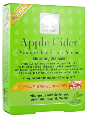 New Nordic Apple Cider 60 Comprimés