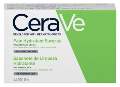 CeraVe Hydrating Cleanser Bar 128g