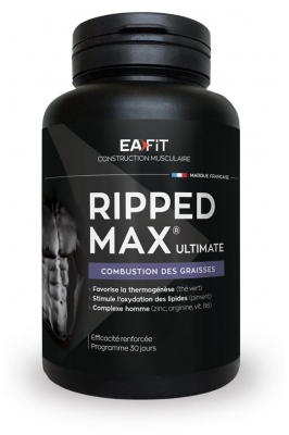 Eafit Ripped Max Ultimate Fettverbrennung 120 Tabletten