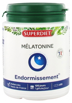 Super Diet Mélatonine 120 Gélules