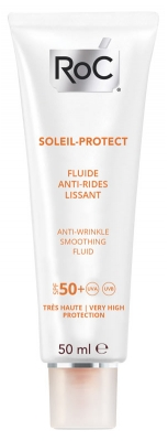 RoC Soleil-Protect Fluide Anti-Rides Lissant SPF 50+ 50ml