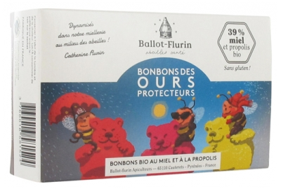 Ballot-Flurin Organic Candies of Protective Bears 100g