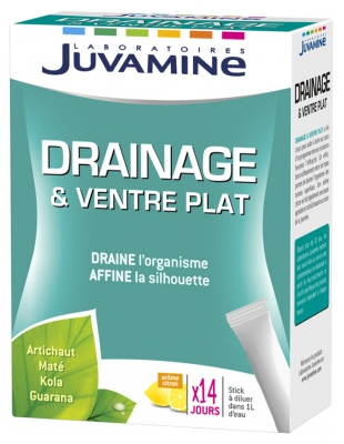 Juvamine Drainage & Flat Belly 14 Sticks