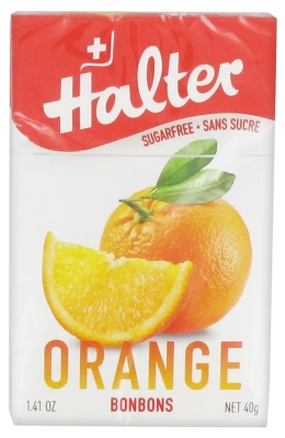Halter Sweets Sugars Free Orange 40g