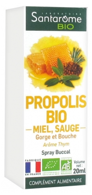 Santarome Bio Propolis Bio Spray Buccal 20 ml