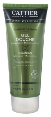 Cattier Men Cabine de Bain Shower Gel 200ml