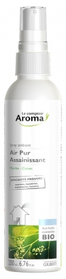 Le Comptoir Aroma Air Pur Spray Assainissant Menthe Citron 200 ml