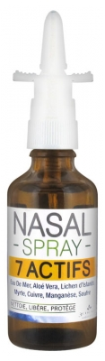 Les 3 Chênes Nasal Spray 7 Actives 50ml