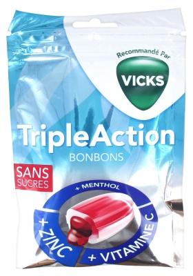 Vicks Triple Action Bonbons 72 g