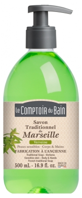 Le Comptoir du Bain Savon Traditionnel de Marseille Verveine 500 ml
