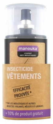Manouka Anti-Mosquitoes Spray Tissues Clothes All Areas 75ml