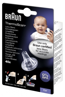 Braun 40 Embouts pour Thermoscan