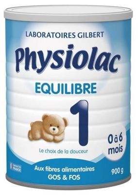Physiolac Equilibre 1 0 to 6 Months 900g