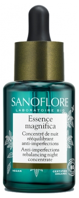 Sanoflore Essence Magnifica Rebalancing Botanical Night Concentrate 30ml