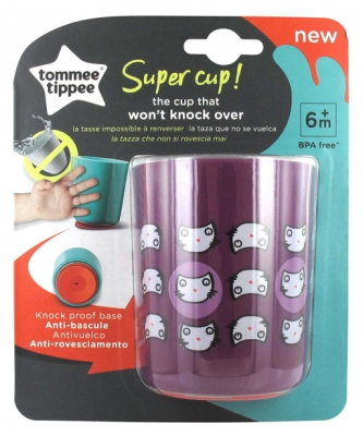Tommee Tippee Super Cup Knock Proof Base Cup 6 Months and + 190ml