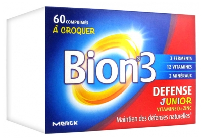 Bion 3 Defense Junior 60 Tablets to Crunch
