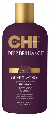 CHI Deep Brilliance Olive & Monoi Shampoo 355ml